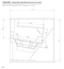 Cerwin Vega Box Design Diagram Bass Cabinet