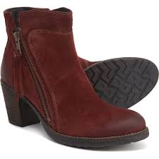 Taos Footwear Made In Portugal Dillie Booties Suede For Women