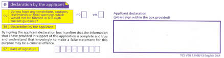 Criminal Record Template Completing A Criminal Record Check Application Theinfohub By