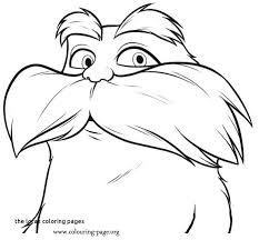 The Lorax Coloring Page Gallery Of The Coloring Pages Lorax Bears