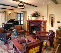 eclectic crafts room. Craftsman Style Furniture Living Room Traditional With Linen Drapes Malibu Tile Eclectic Crafts R