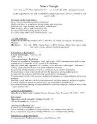 Wireless Communications Technician Job Description - Wire Center •