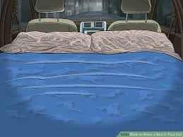 image titled make a bed in your car step 17