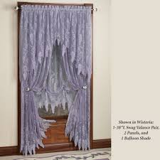 overview the wisteria arbor lace valances and curtain
