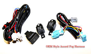 oem style 03 05 accord fog light harness switch acurazine  these are brand new, i did not need them for my install this harness is complete w 2 relays, switch, harness that plugs into the h11 fog lights 1990 Accored Oem Fog Light Wiring Harness