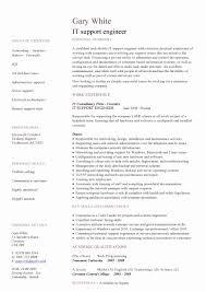 ... Resume format for Desktop Support Engineer Unique Download Customer  Service Engineer Sample Resume ...