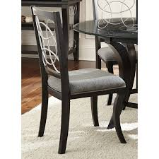greyson living calypso black charcoal grey upholstered dining within gray chairs designs 2