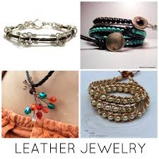 how to make leather jewelry