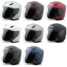 Details About Gmax Adult Gm17 Solid Open Face 3 4 Motorcycle Street Helmet Pick Size Color