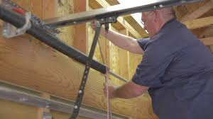 How to Replace Garage Door Springs - Done by a Professional - YouTube