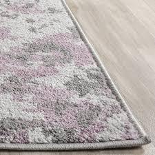 greatest purple area rug 8x10 com safavieh adirondack collection adr115m light grey and