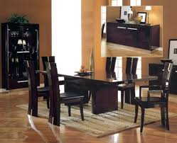 high back chairs for dining table. contemporary dining room sets two white leather chair black classic table high back chairs for 0