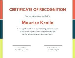 Certificate Of Recognition Template Free Download Certificate Of Award Template Free Download 8 Printable Certificates