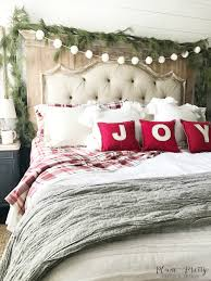 Charming Target Bed Pillows For The Bedroom: A Farmhouse Christmas Bedroom    Christmas Bedroom, Target
