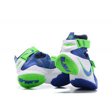 nike 2017 basketball shoes. 2017 nike lebron soldier 9 basketball shoes all star blue green white sale