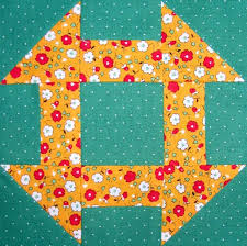 hole in the barn door quilt block and what s on your nightstand