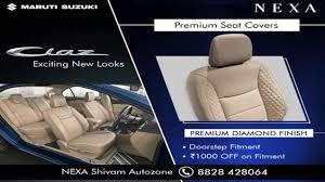 nexa ciaz premium seat covers