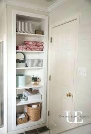 open shelving in bathroom built in shelving for storage tutorial open bathroom shelving unit open shelving in bathroom