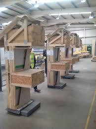 cygnum timber frame manufacturing tour passive house association of ireland