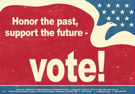 photo of vote encouragement
