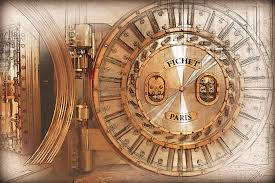 bank vaults digital art fichet bank vault door and lock by serge averbukh