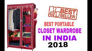 5 best wardrobe closet in india with 2018 best portable wardrobe
