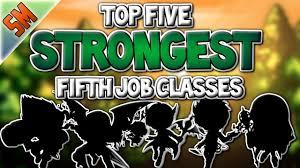 Top 5 Strongest 5th Job Classes Maplestory