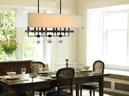 rectangle dining room lighting creative of rectangular crystal chandelier dining room rectangular