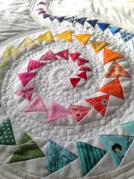 Spiral Geese Mini Quilt | Spiral, Mini quilts and Mini quilt patterns & Flying geese quilt Adamdwight.com