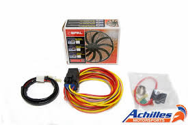 spal relay wiring kits just another wiring diagram blog • spal electric fan relay wiring harness kit rh achillesmotorsports com 5 pin relay wiring diagram spal