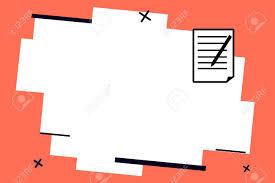 Business Pad Design Vector Flat Design Business Vector Illustration Concept Copy Text For