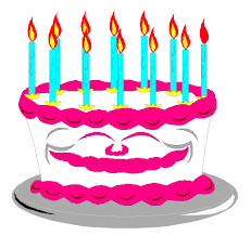 birthday cake animated. Delighful Birthday Birthday Cake Animated Clipart  Kid Vector Freeuse In