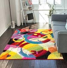 impressive multi color area rugs black multi color area rugs regarding multi colored area rugs modern