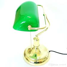 green desk lamp vintage green desk lamp and bankers with replacement glass shade bank