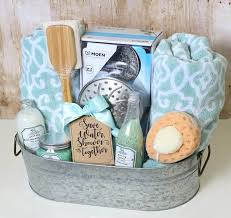 diy shower themed wedding gift basket