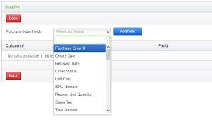 What Is A Purchase Order Number Uploading Purchase Orders Via File Upload Ecomdash Support