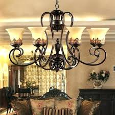 black shade chandelier antique black wrought iron chandelier rustic arts crafts bronze with 8 lights cream black shade chandelier