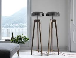 Image Vintage View In Gallery Exclusive Floor Lamps With Tinplated Shade Decoist Unique Contemporary Floor Lamps That Stand Out From The Crowd