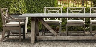 restoration hardware outdoor furniture. Restoration Hardware Outdoor Furniture Concrete Dining Table Plans