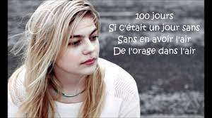 Louane Jour 1 Lyrics - YouTube