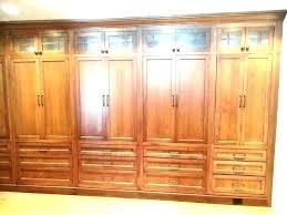 wood storage closet closet shelves