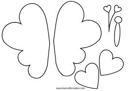 Farfalle Sagome Da Ritagliare In Sagome Lavoretti Arte Farfalle