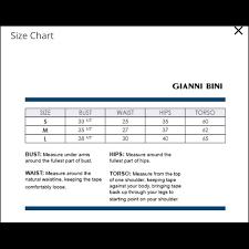 Gianni Bini Cross Side Strap Bikini Bottom Sz Lg