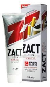 Lion <b>зубная паста zact отбеливающая</b> 150,0 - цена 144 руб ...