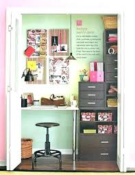 office in a closet. Office In Closet Turn Into A Bedroom
