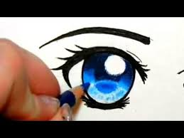 anime eyes color. Interesting Color How To Colour Eyes With Pencil Crayons With Anime Color