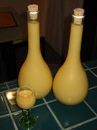 Decorative Bottles For Homemade Liqueurs Cocktail Jen Liqueur update Advocaat and Fresh MintInfused 2