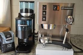 my new kitchen addition rancilio silvia espresso machine