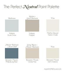 whole home neutral paint palette bathroom paint color valspar azure snow kitchen and guest