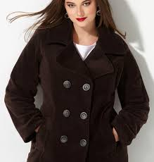 plus size pea coats inspirational double ted fleece peacoat plus size peacoats avenue